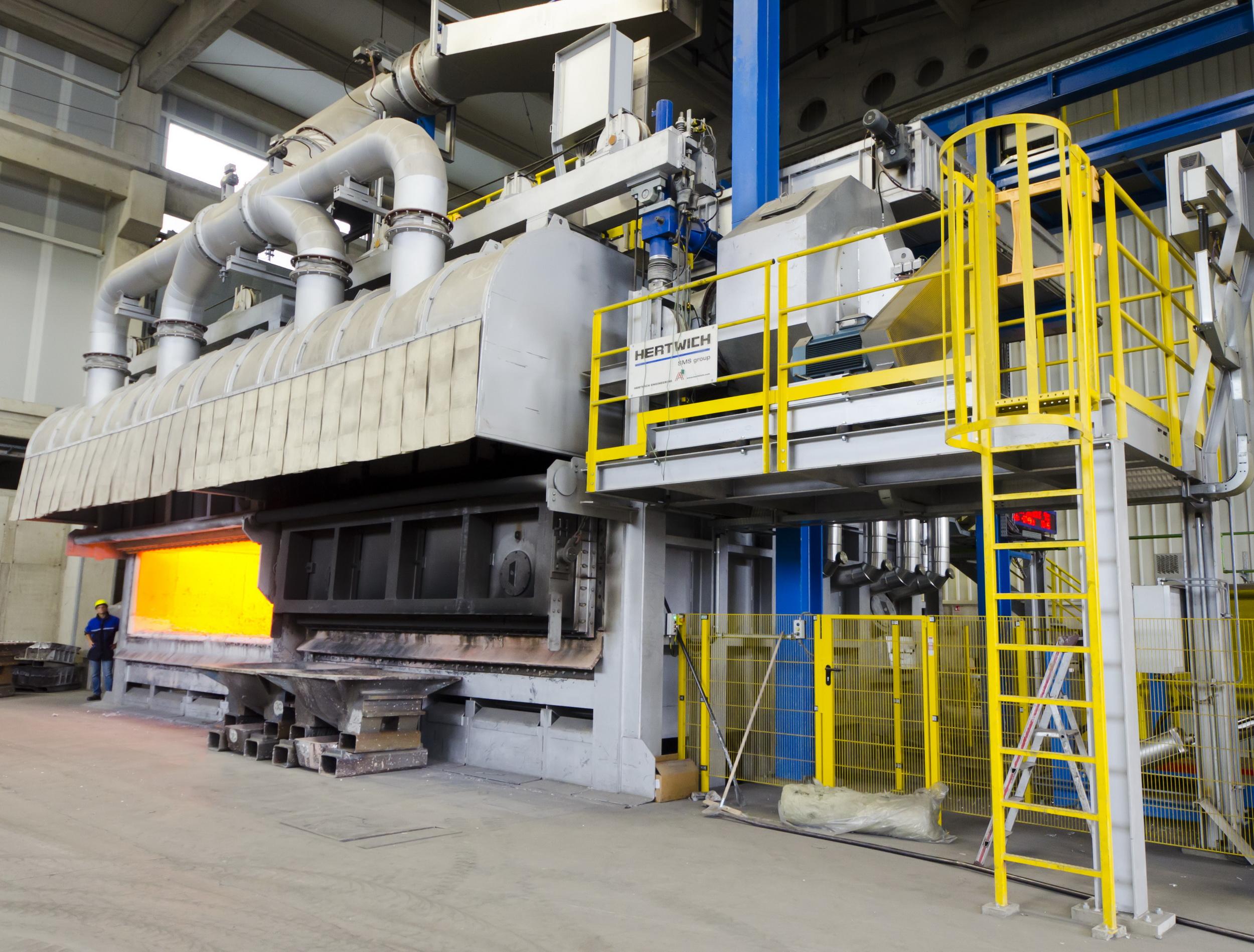 Units plant aluminum rolling