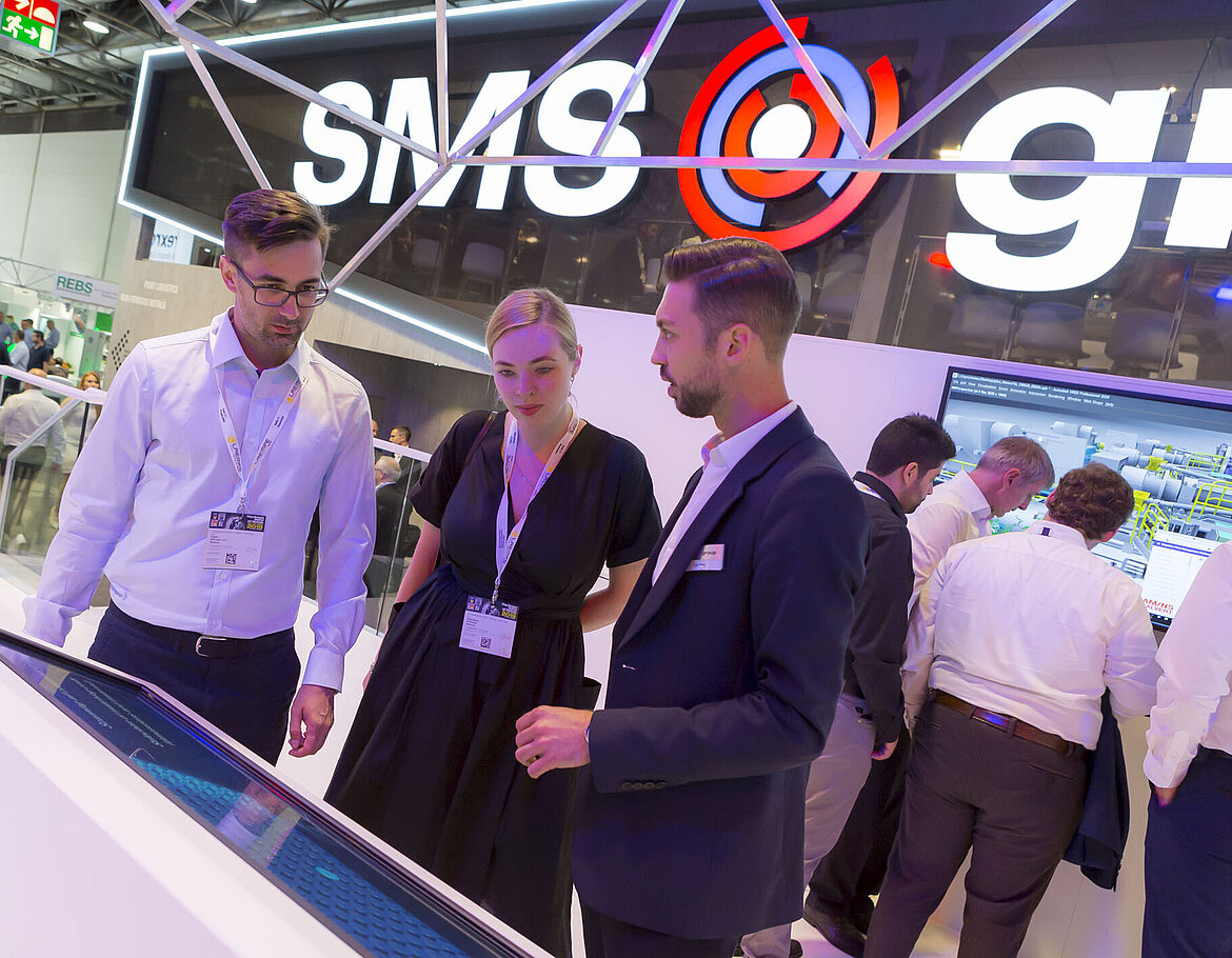 SMS group at METEC 2019 - Customer statements