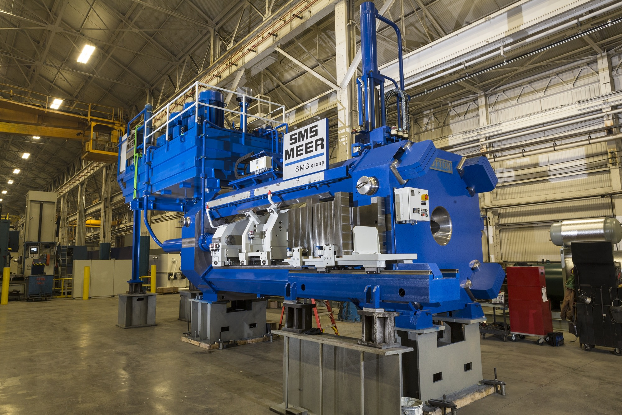 Sms Group Builds New Generation Of Sutton Extrusion Press